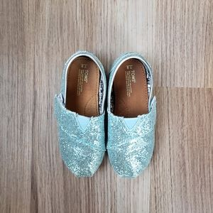Tom's Toddler Glitter Shoes